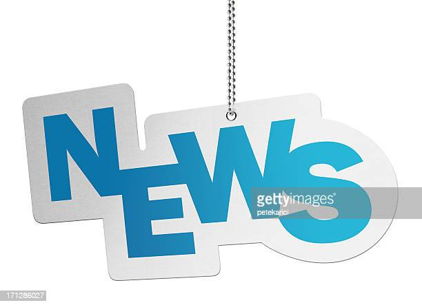 News, Speech Bubble (Clipping Path)