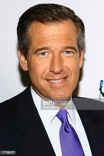 Newscaster Brian Williams attends Stand Up For Heroes A Benefit For The Bob Woodruff Family Fund at Town Hall on November 07 2007 in New York City