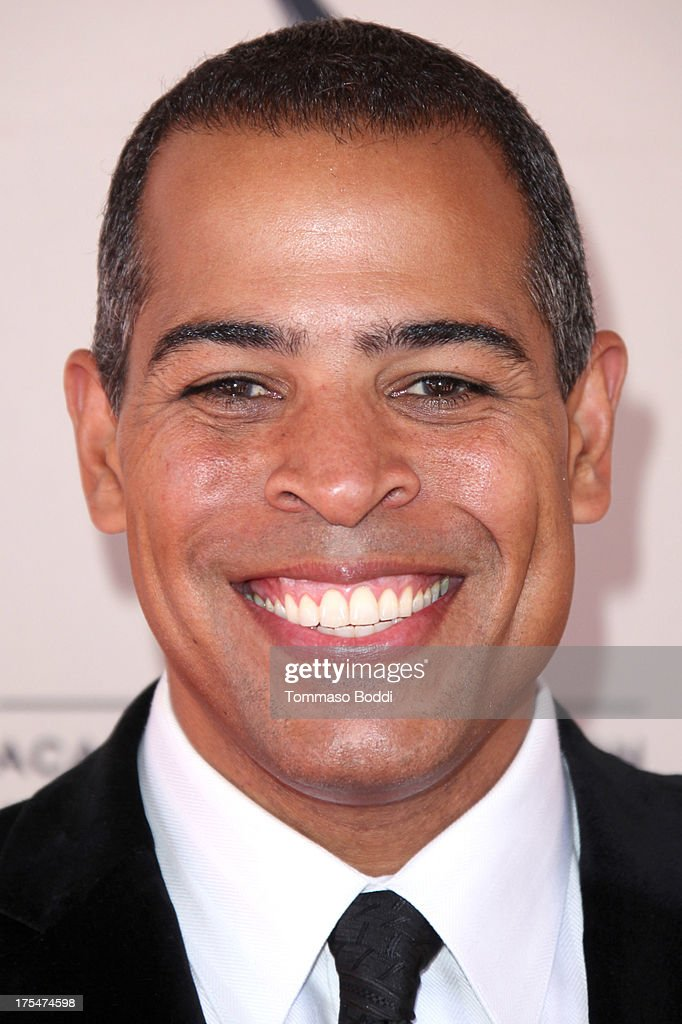 TV newscaster Chris Schauble attends the Academy Of Television Arts & Sciences 65th Los Angeles Area EMMY Awards held at the Leonard H. Goldenson Theatre on August 3, 2013 in North Hollywood, California.