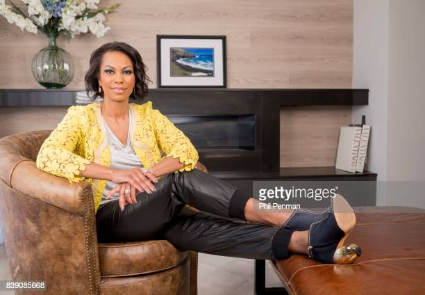Newscaster Harris Faulkner is photographed for Closer Weekly Magazine on March 22 2017 at home in northern New Jersey