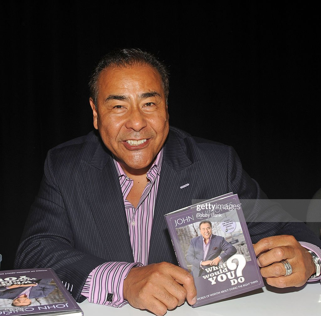 Newscaster John Quinones promotes his book 'What Would You Do' at the BookExpo America 2015 at the Javits Center on May 27 2015 in New York City