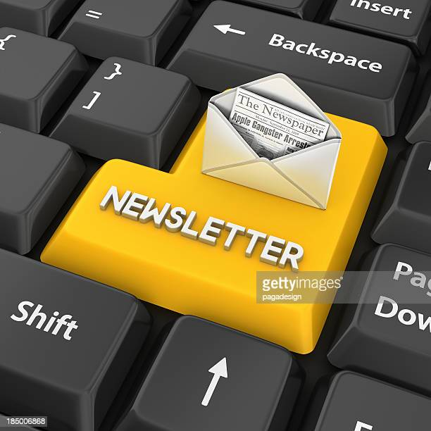 newsletter enter key