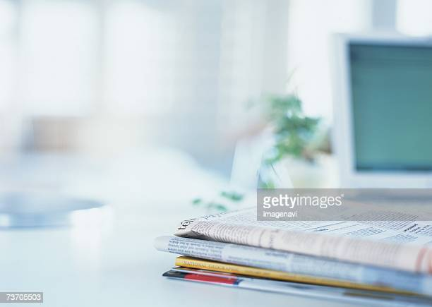Newspaper and magazines