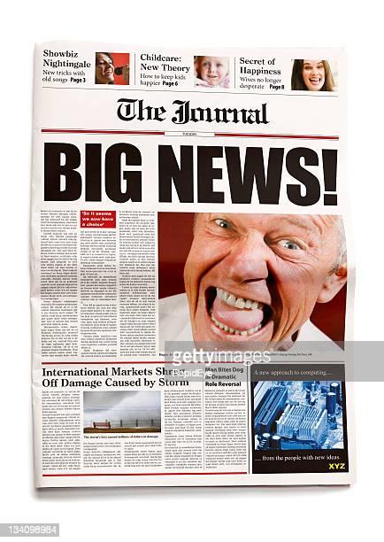 Newspaper: Big news!