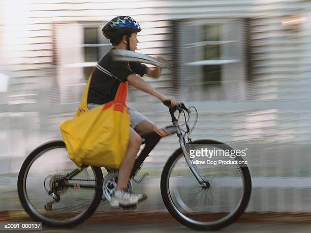 Newspaper Delivery Boy