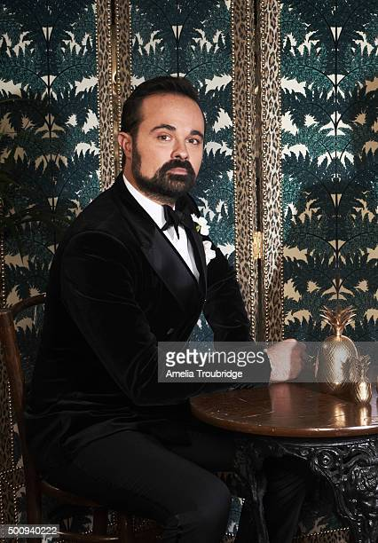 Newspaper owner and publisher Evgeny Lebedev is photographed for ES magazine on September 8 2014 in London England