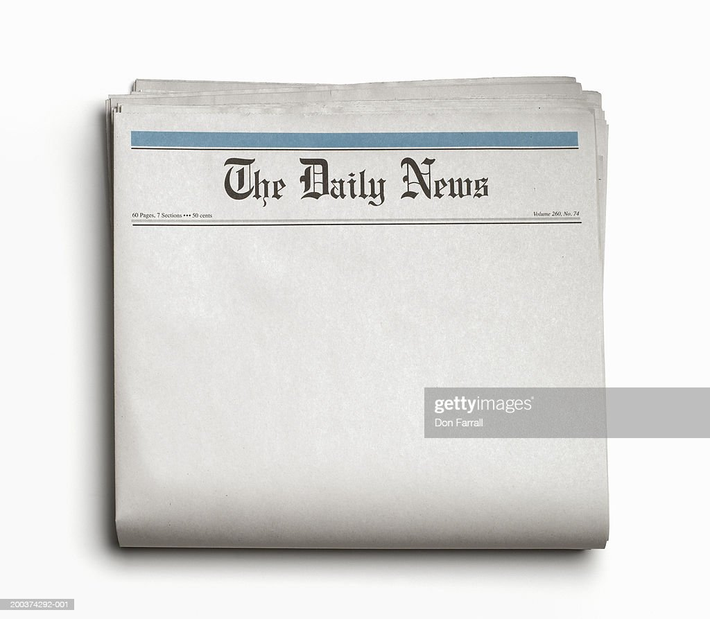 Newspaper : Stock Photo