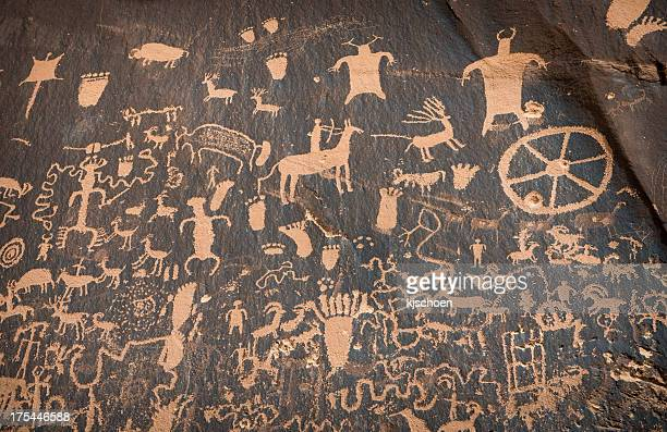 Newspaper Rock Petroglyph Symbole