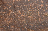 Native American Petroglyphs at Canyonlands National Park