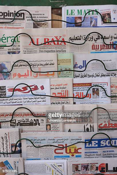 Newspapers, Marocco