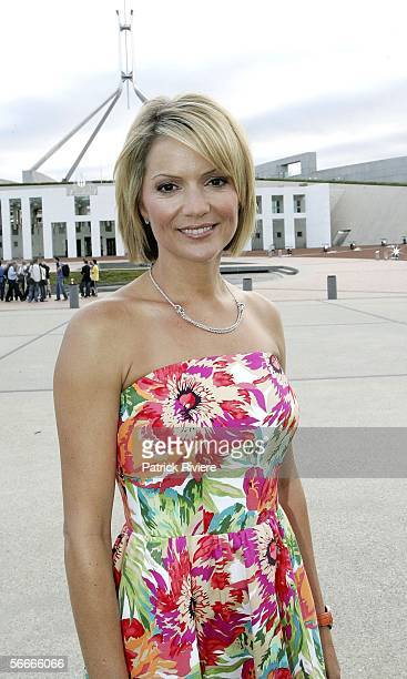 Newsreader Sandra Sully attends the Australia Day Australian of the Year Awards at Parliament House on January 25 2006 in Canberra Australia