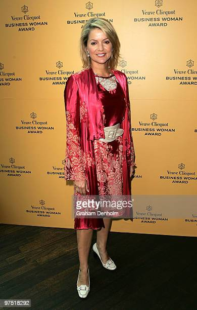 TV newsreader Sandra Sully attends the Veuve Clicquot Business Woman Award Australia 2010 announcement at Customs House on March 8 2010 in Sydney...