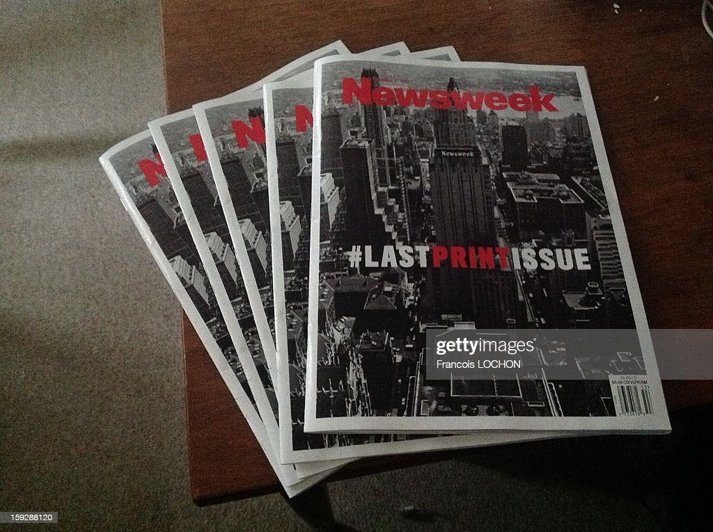 Newsweek released the cover for its last-ever print issue on Sunday morning,the cover features a vintage picture of the old Newsweek offices in New York, accompanied by the headline 'LASTPRINTISSUE', Newsweek will become a digital-only publication when the new year hits.