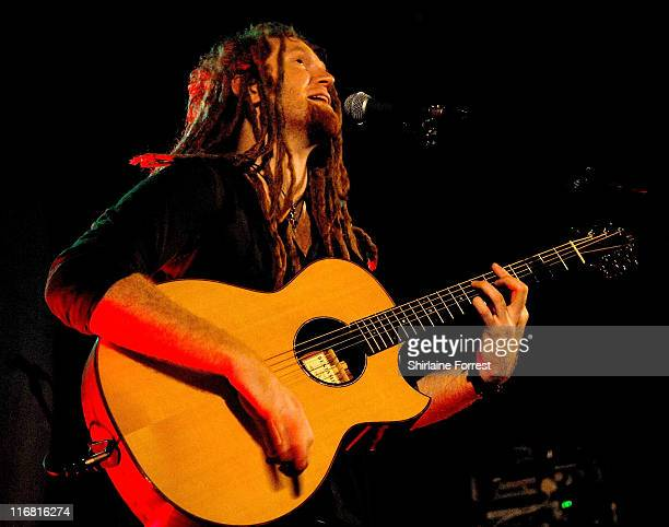 Newton Faulkner performs at Manchester Academy November 24 2007 in Manchester England