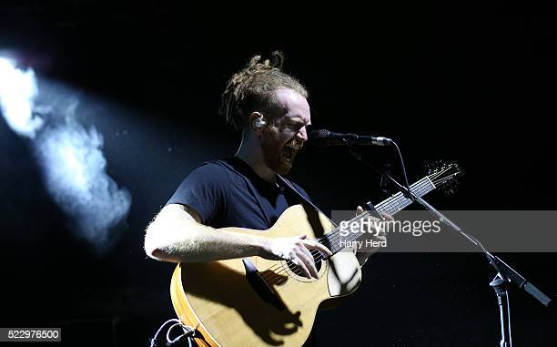 Newton Faulkner performs at Portsmouth Pyramids on April 21 2016 in Portsmouth England