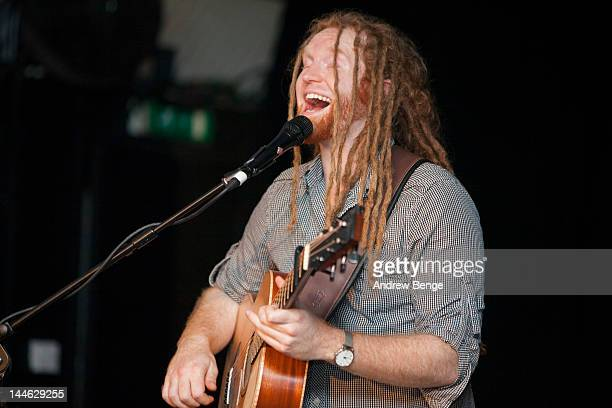 Newton Faulkner performs on stage at Cockpit on May 16 2012 in Leeds United Kingdom