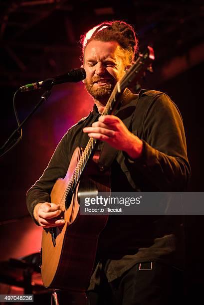 Newton Faulkner performs on stage at The Liquid Room on November 13 2015 in Edinburgh Scotland