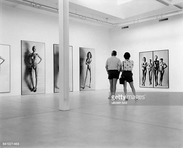 Newton Helmut *Fotograf Australien Fotoausstellung in Winterthur Schweiz1994