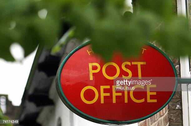 The Post Office in NewtonleWillows Lancashire northwest England is seen 17 May 2007 Britain's government confirmed on today that it will shut about...