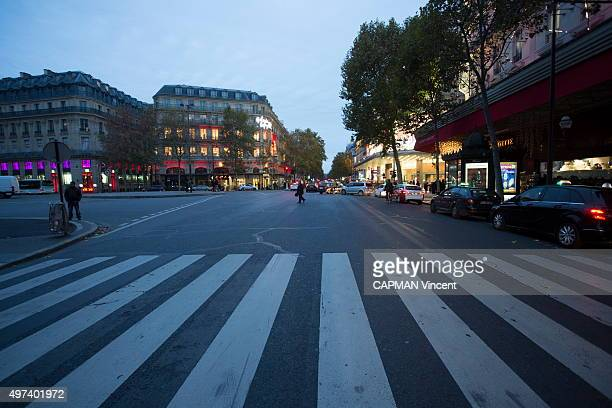 next day after the terrorist attacks in Paris at the Bataclan concert hall in the streets of the 11th district and at the Stade de France the city of...