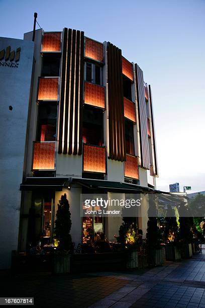 Next to the Asahi Brewery headquarters in Asakusa is the Annex housing restaurants and beer drinking establishments serving Asahi Beer of course