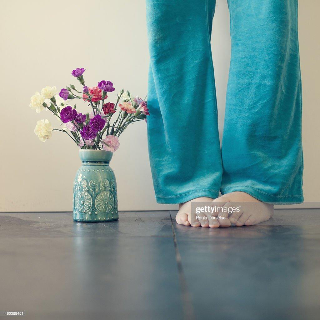 Next to the Vase