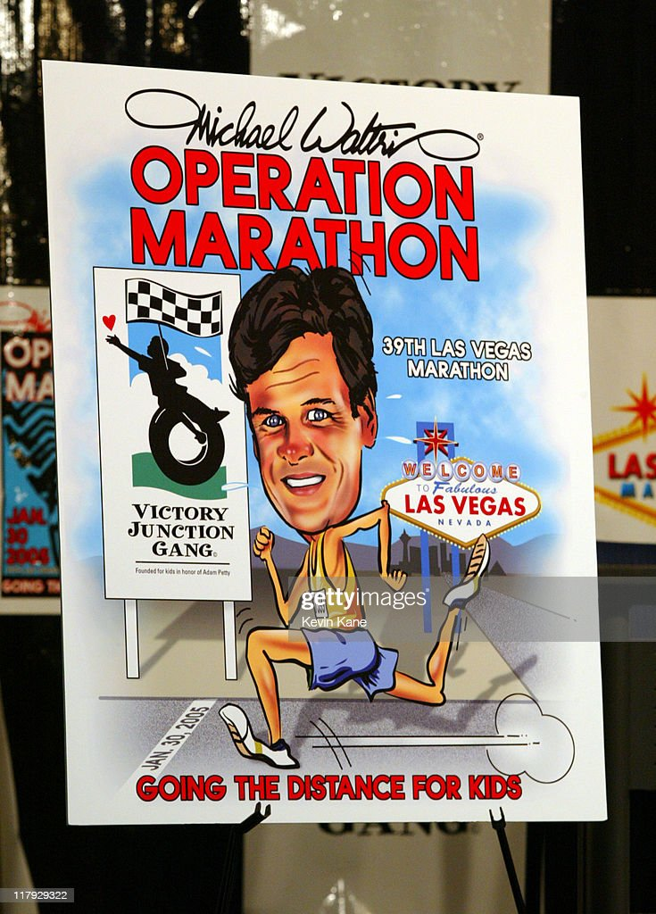 Nextel Cup driver and two time Daytona 500 winner Michael Waltrip announced that he will run the Las Vegas Marathon on 01/30/05 and has made a...