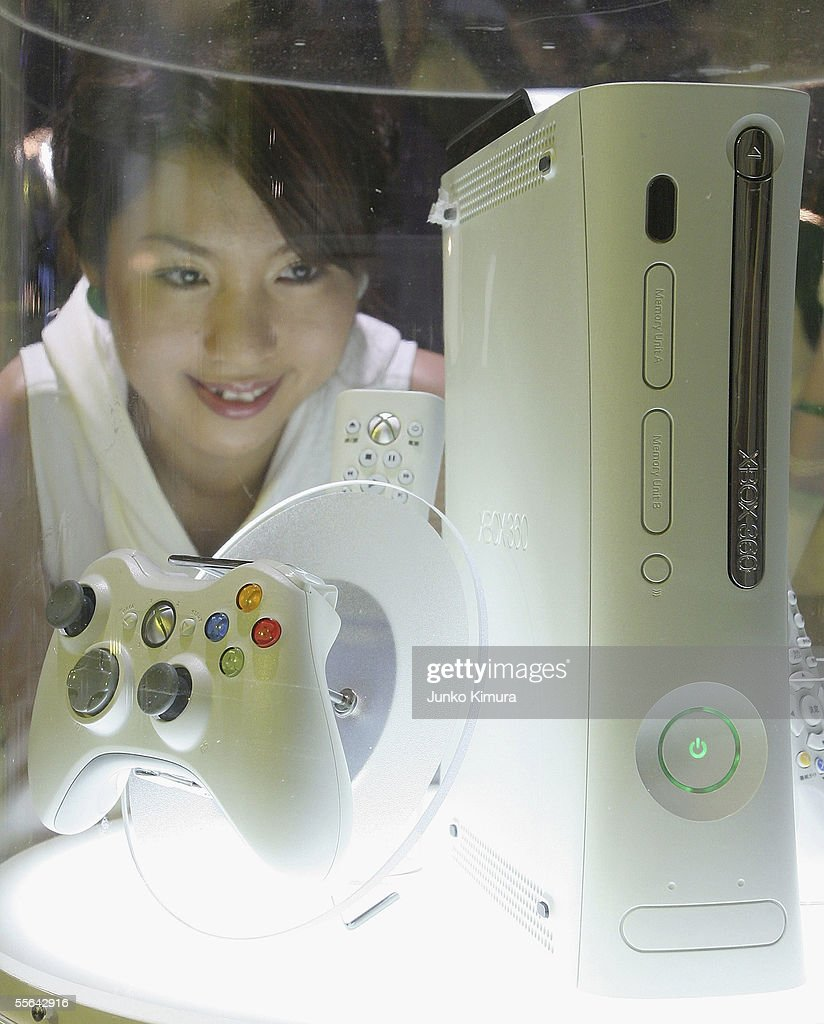 Next-generation Xbox 360 of Microsoft is on display during the Tokyo Game Show 2005 on September 16, 2005 in Chiba, Japan. The show which takes place from September 16 for 3 days is expected to attract 150,000 visitors.