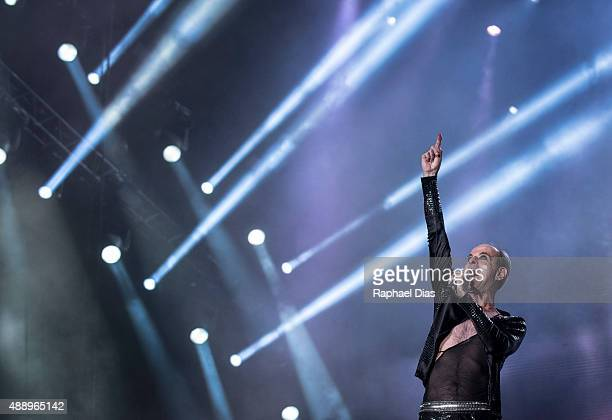 Ney Matogrosso from Rock in Rio 30 anos performs at 2015 Rock in Rio on September 18 2015 in Rio de Janeiro Brazil