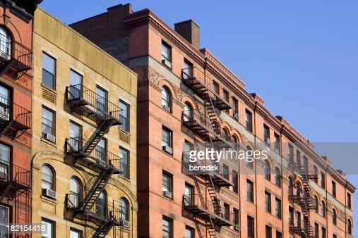 Ney York City Apartments avec escalier de secours échelle