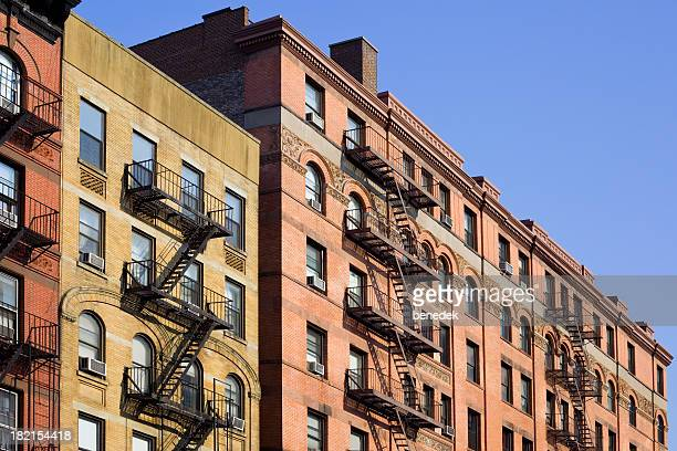 Ney York City Apartments with Fire Escape Ladder