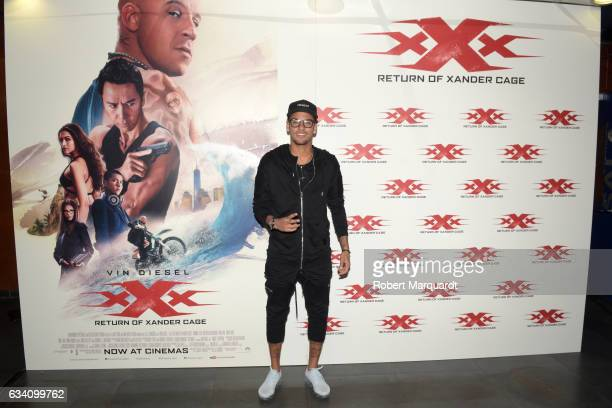 Neymar Jr attends a special screening of Paramount Pictures 'xXx Return of Xander Cage' at the Cinesa Diagonal on February 6 2017 in Barcelona Spain