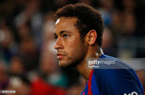 Neymar Jr during La Liga match between FC Barcelona v CD Leganes in Barcelona on February 19 2017