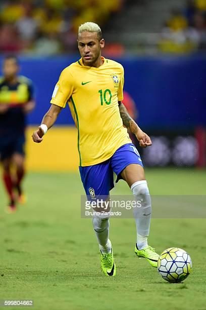 Neymar player of Brazil at Arena da Amazonia on September 6 2016 in Manaus Brazil