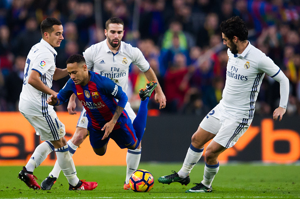FC Barcelona v Real Madrid CF - La Liga : News Photo
