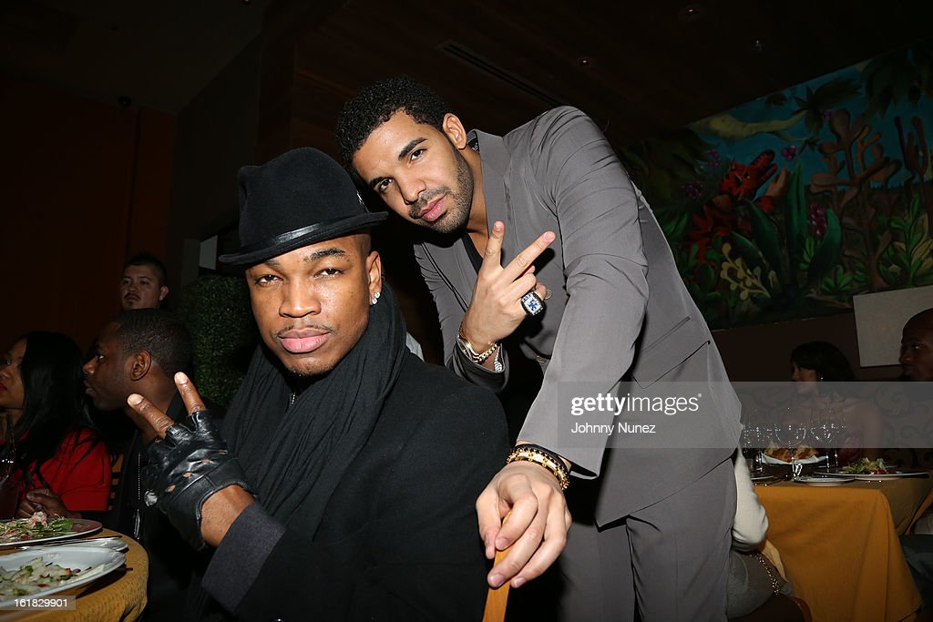 <a gi-track='captionPersonalityLinkClicked' href=/galleries/search?phrase=Ne-Yo&family=editorial&specificpeople=451543 ng-click='$event.stopPropagation()'>Ne-Yo</a> and <a gi-track='captionPersonalityLinkClicked' href=/galleries/search?phrase=Drake+-+Entertainer&family=editorial&specificpeople=6927008 ng-click='$event.stopPropagation()'>Drake</a> attend The Two Kings Dinner presented by Sprite at RDG + Bar Annie on February 16, 2013 in Houston, Texas.