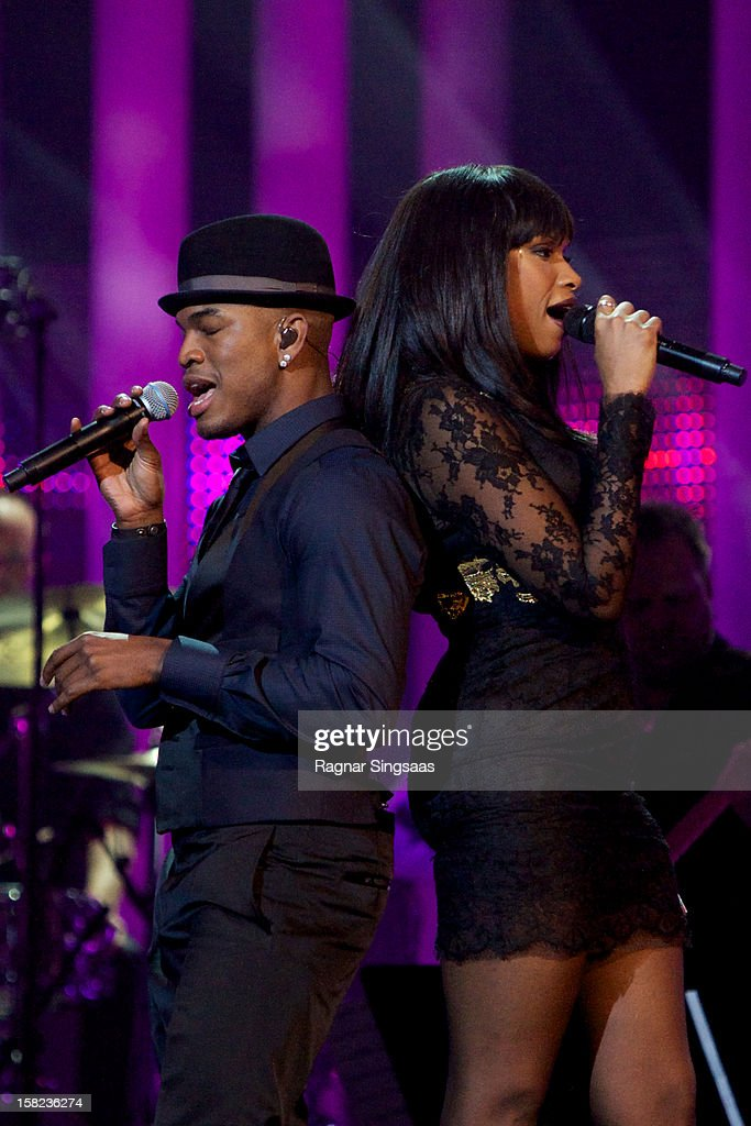 <a gi-track='captionPersonalityLinkClicked' href=/galleries/search?phrase=Ne-Yo&family=editorial&specificpeople=451543 ng-click='$event.stopPropagation()'>Ne-Yo</a> and <a gi-track='captionPersonalityLinkClicked' href=/galleries/search?phrase=Jennifer+Hudson&family=editorial&specificpeople=234833 ng-click='$event.stopPropagation()'>Jennifer Hudson</a> perform at the Nobel Peace Prize Concert at Oslo Spektrum on December 11, 2012 in Oslo, Norway.