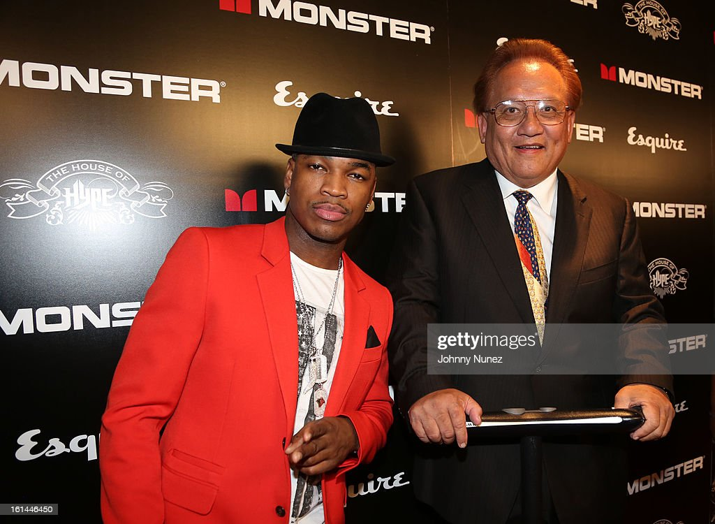 Ne-Yo and Noel Lee attend House Of Hype Monster Grammy Party at House Of Hype on February 10, 2013 in Los Angeles, California.