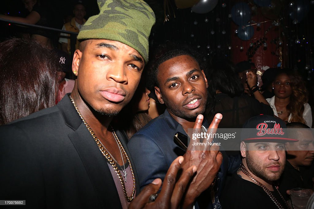 Ne-Yo and Von Smith attend Von Smith's Birthday Party at Greenhouse on June 11, 2013 in New York City.