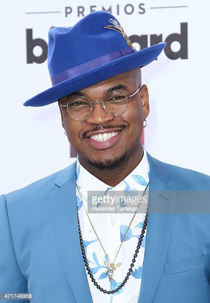 NeYo arrives at 2015 Billboard Latin Music Awards presented by State Farm on Telemundo at Bank United Center on April 30 2015 in Miami Florida