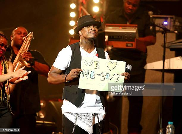 NeYo attends Frankie And Benny's Rays Of Sunshine Concert at Royal Albert Hall on June 7 2015 in London England