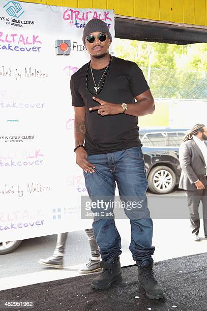 NeYo attends GirlTalk Takeover Hosted By Angela Simmons at Harlem Boys and Girls Club on July 29 2015 in New York City