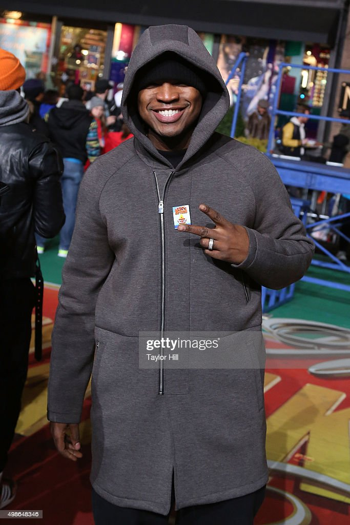 Ne-Yo attends Macy's Thanksgiving Day Parade rehearsals at Herald Square on November 24, 2015 in New York City.