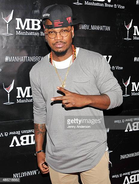 NeYo attends Manhattan Brew Vine Grand Opening on August 25 2015 in New York City
