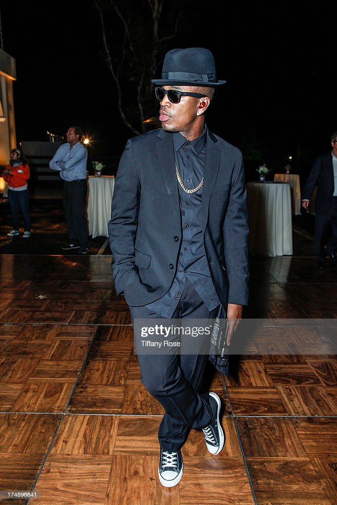Ne-Yo attends the 15th Annual DesignCare benefiting The HollyRod Foundation on July 27, 2013 in Malibu, California.