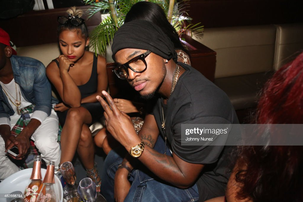 NeYo attends the DNine Reserve After Party at Empire Hotel Rooftop on July 22 2014 in New York City