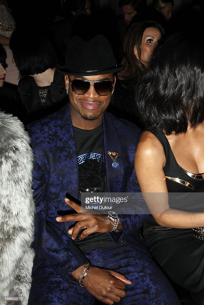 <a gi-track='captionPersonalityLinkClicked' href=/galleries/search?phrase=Ne-Yo&family=editorial&specificpeople=451543 ng-click='$event.stopPropagation()'>Ne-Yo</a> attends the Versace Spring/Summer 2013 Haute-Couture show as part of Paris Fashion Week at Le Centorial on January 20, 2013 in Paris, France.