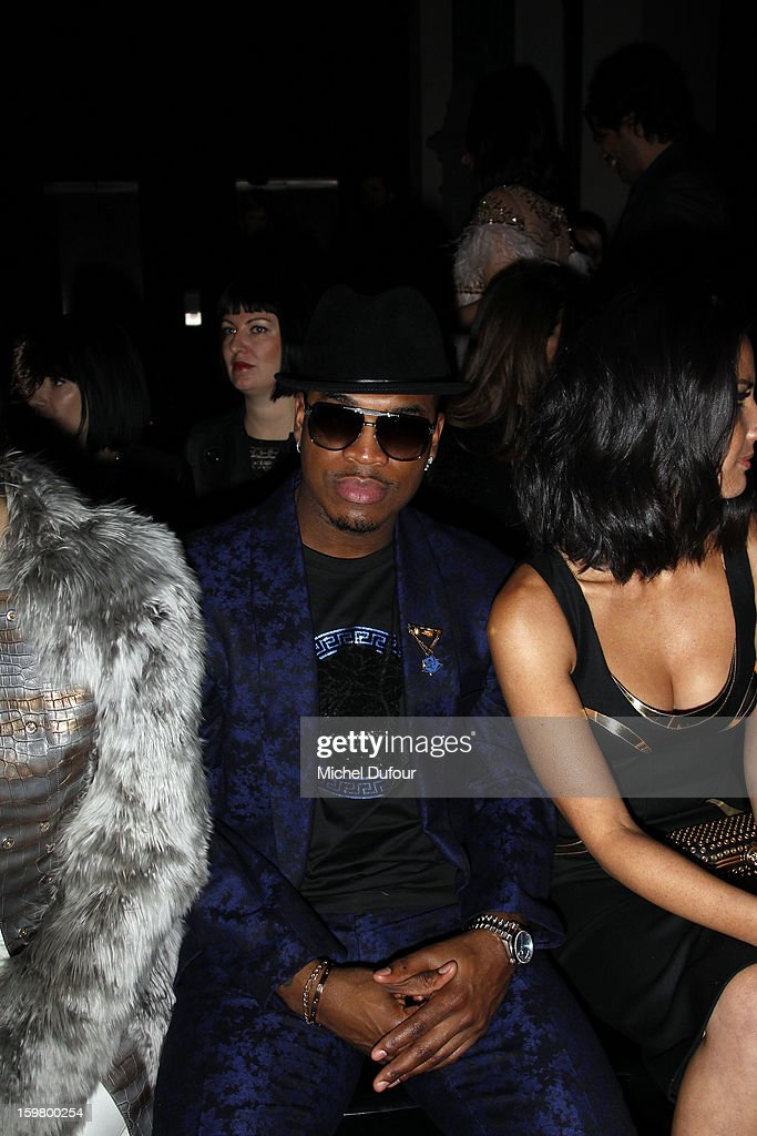 Ne-Yo attends the Versace Spring/Summer 2013 Haute-Couture show as part of Paris Fashion Week at Le Centorial on January 20, 2013 in Paris, France.