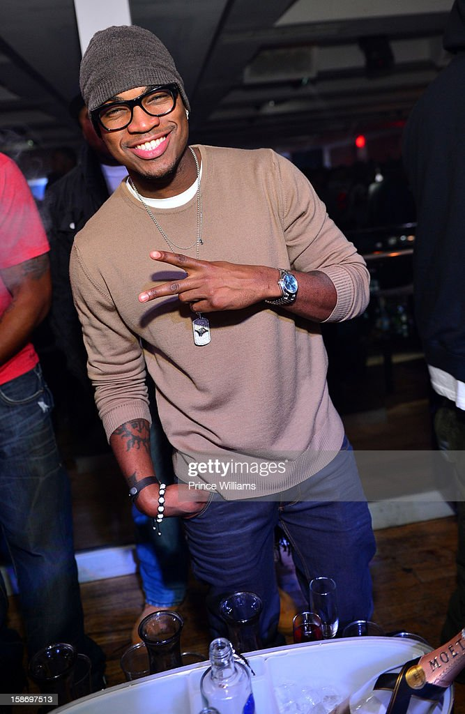 Ne-Yo attends T.I. 'Trouble Man Heavy Is The Head' Album Release Party at Compound on December 22, 2012 in Atlanta, Georgia.