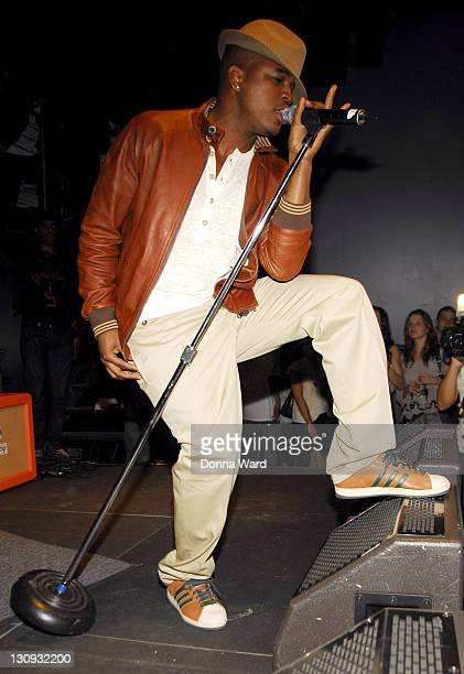 NeYo during Hennessy Artistry Concert Tour KickOff April 24 2007 at Arena in New York City New York United States
